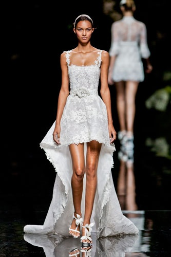 Manuel Mota Barcelona bridal fashion week 2013  Photo: Imaxtree
