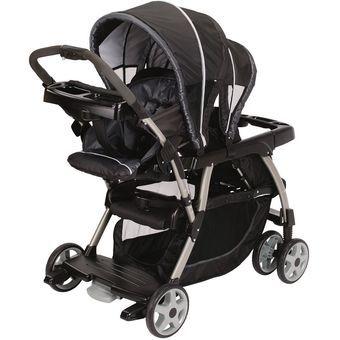 Carriola carreola gemelos para bebe, carro Graco Ready2Grow Classic cochesito