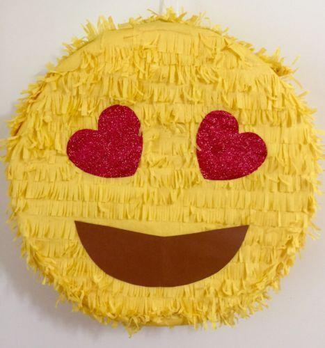 Emoji Pinata tutorial via DeVonna Hernandez