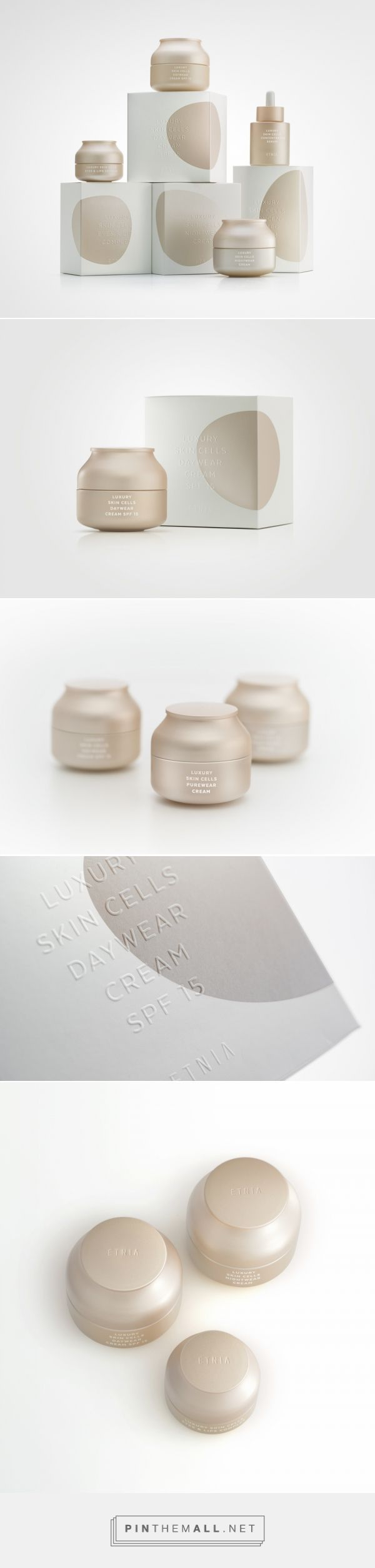 Luxury Skin Cells — The Dieline - Branding & Packaging - created via pinthemall.net - Luxury Beauty - http://amzn.to/2hZFa13