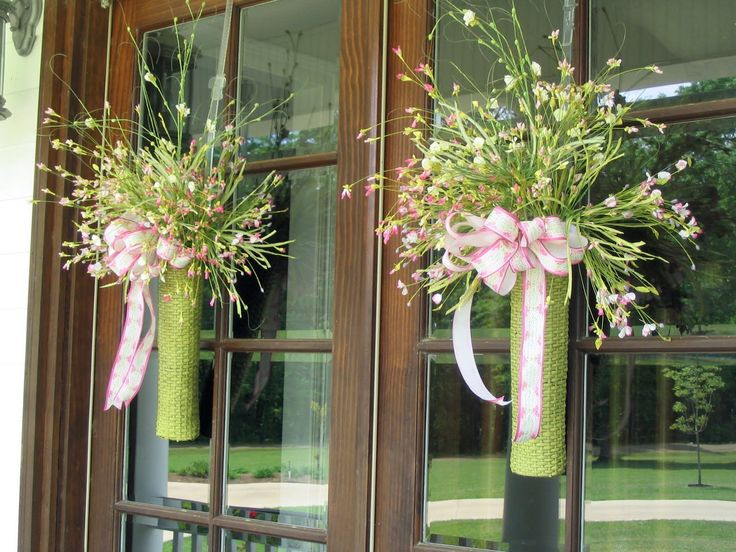 Welcome For Pink Saturday Today I Thought Would Just Show You Some Random Double Front DoorsDouble Door WreathsFront DecorSpring