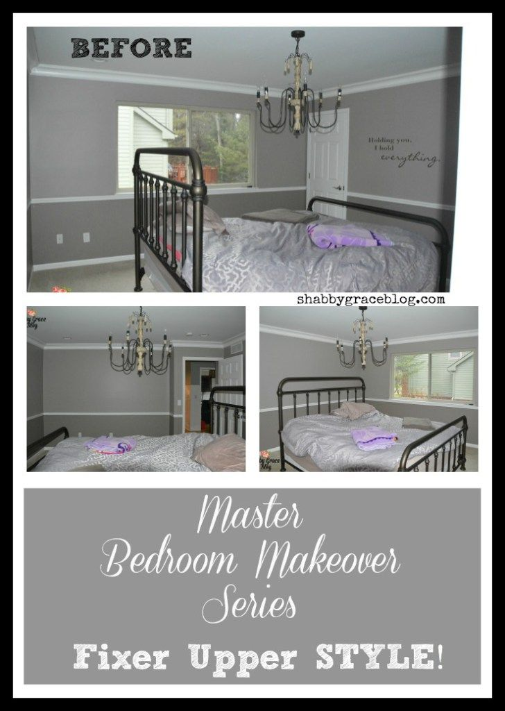 Farmhouse Master Bedroom Makeover Series Fixer Upper Style Bedroom Makeovers Master Bedrooms