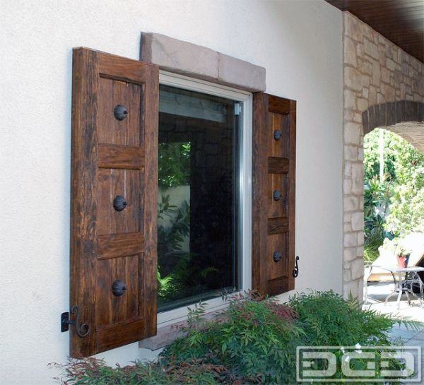 Best 25 exterior shutters ideas on pinterest wood - Exterior wood door manufacturers ...