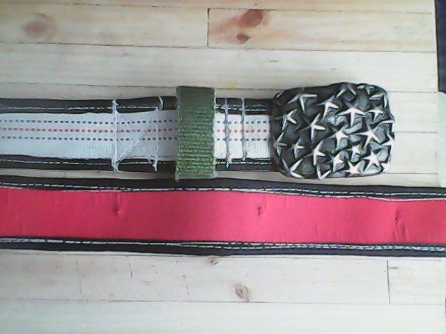Canvas fire Hose belt by True Knysna   trueknysna@gmail.com