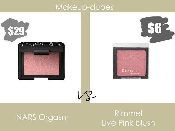 Makeup dupes #narsdupes #rimmellondon #blush