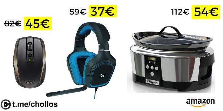 Ratón Logitech MX Anywere 2 auriculares Logitech G430 y Olla CrockPot desde 37 - http://ift.tt/2B0sFM6