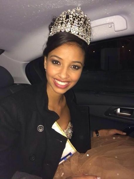 Flora Coquerel the new miss France 2014
