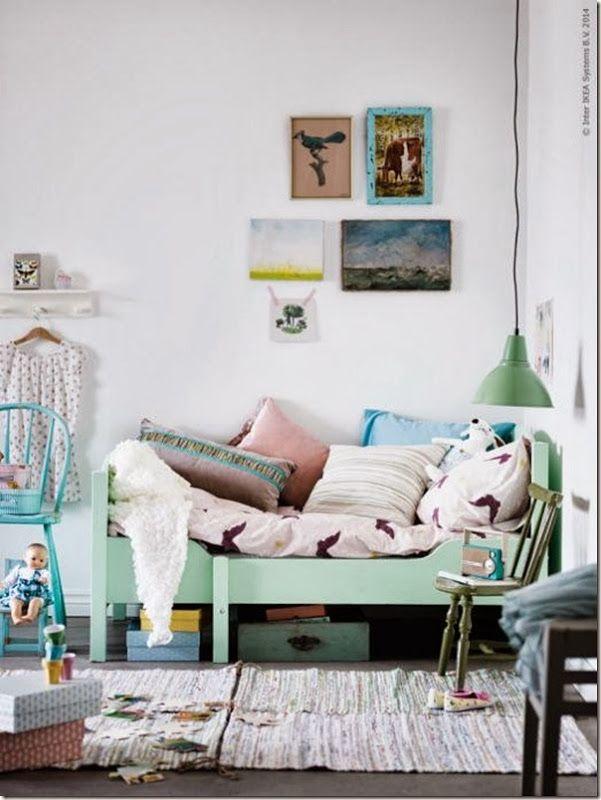 case e interni: camere bambini: ispirazioni e DIY color pastello