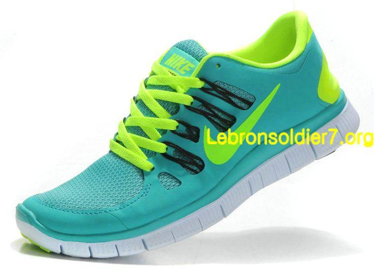 Women's Nike Wmns Free 5.0+ Sport Turquoise Volt Sneakers : D56e6862