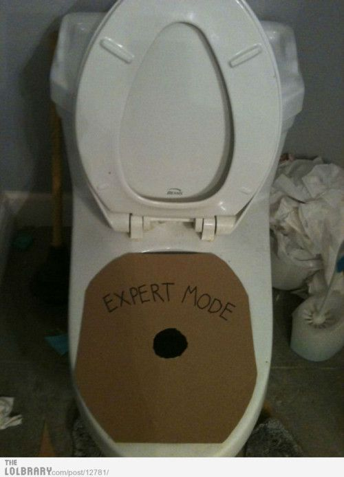 Toilet Expert Mode Prank