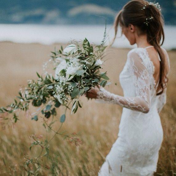 Shelley on her Wedding Day | Fiona Anderson Photography | Dunedin, NZ | www.estelleflowers.co.nz