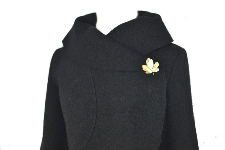 Kurzjacken - Walk Wolle Bolero Jacke,Schwarz Gr.XS-L - ein Designerstück von Rosenrot-Modedesign bei DaWanda