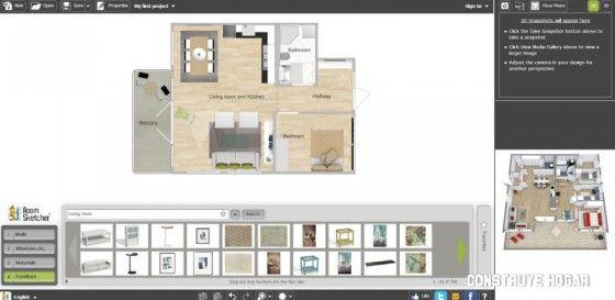 ARQUITECTURA: Roomsketcher app para planos online