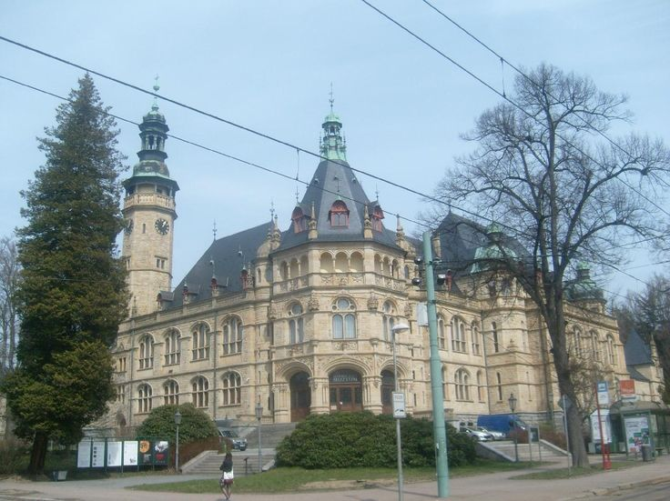The Museum of North Bohemia - Liberec, Czech Republic