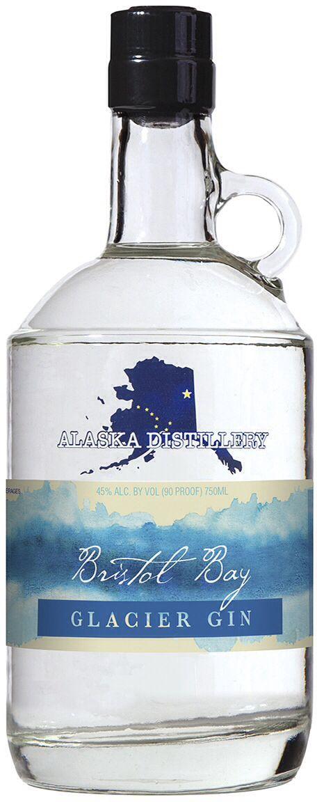 Alaska Distillery Glacier Gin PD