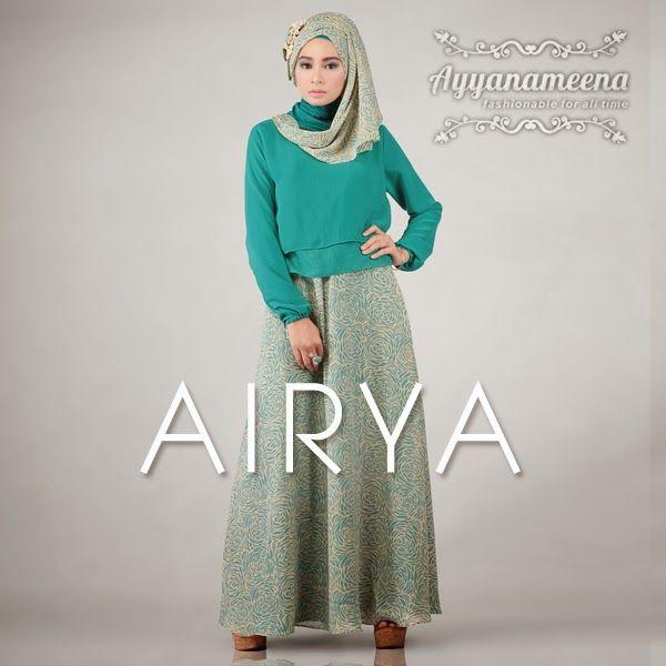 Ayyanameena Airya: Ayyanameena Airya Tosca  #motif #chiffon #sifon #ayyanameena #airya #dress #moslem #hijab #jilbab #fashion #women #tosca