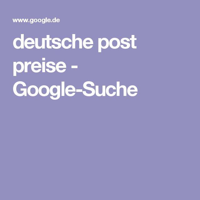 deutsche post preise - Google-Suche