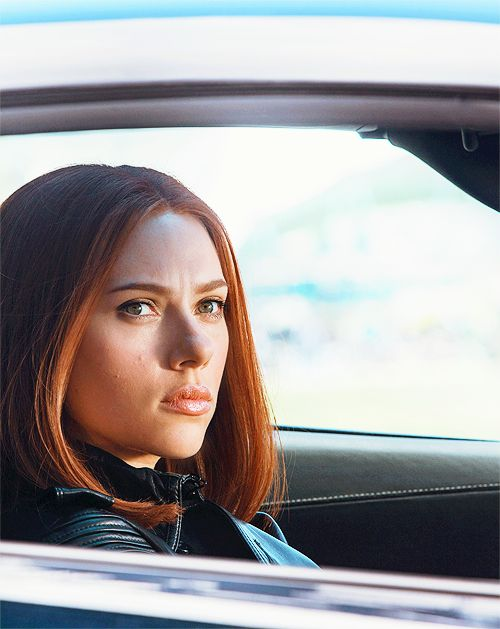 "Scarlett Johansson as Natasha Romanoff in ""Captain America: The Winter Soldier""."