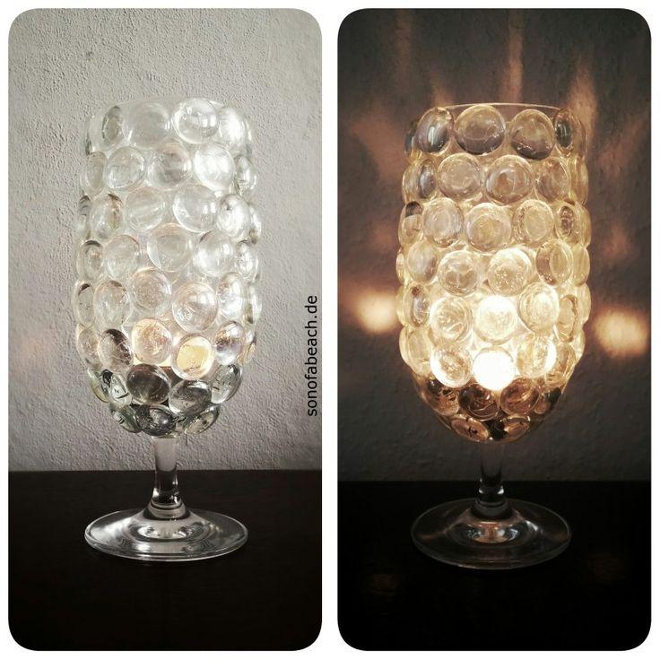 Leuchte aus Glas