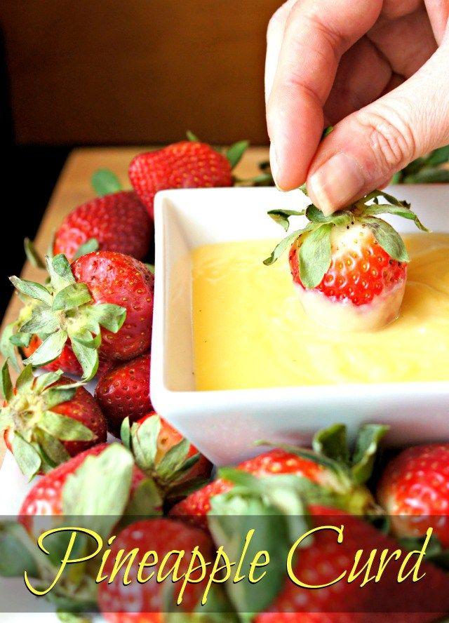 Pineapple Curd Recipe