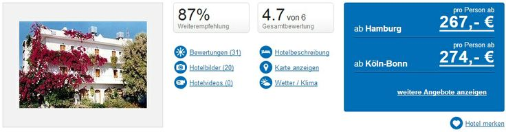 Ferien: Kreta: 7 Tage im sehr guten Hotel mit Frühstück für 267€ - http://tropando.de/?p=4154