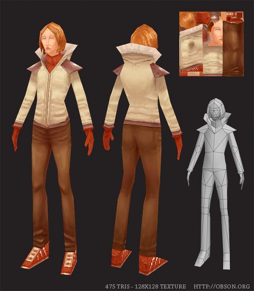 LOWPOLY (sub 1000~ triangle models) - Page 5 - Polycount Forum