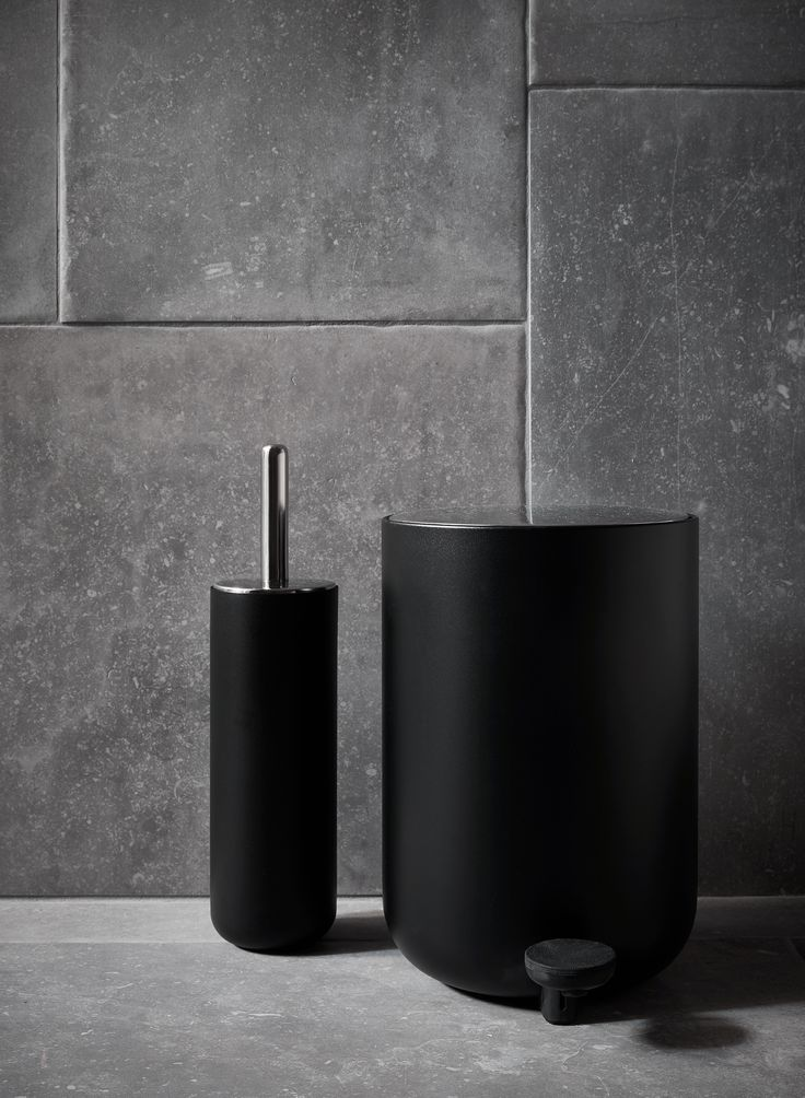 MENU | Pedal Bin and Toilet Brush by Norm Architects