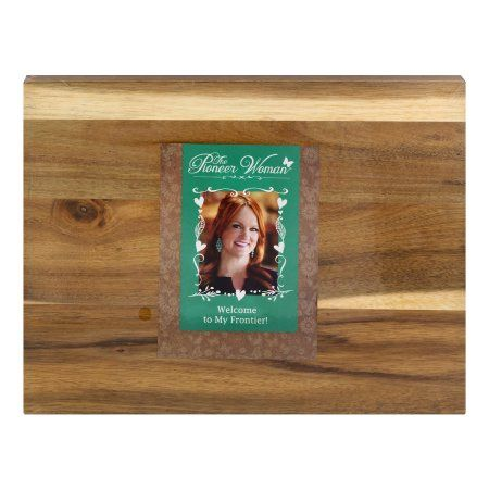"The Pioneer Woman Cowboy Rustic Cutting Board 11"", 1.0 CT"