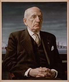 """""""Portret van de heer A.S. de Muinck Keizer (Portrait of Mr A.S. De Muinck Keizer)"""", 1954 / Carel Willink (1900-1983) / Private Collection"""