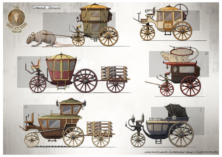 Carriage Designs, Gian Andri Bezzola on ArtStation at https://www.artstation.com/artwork/E1XPK