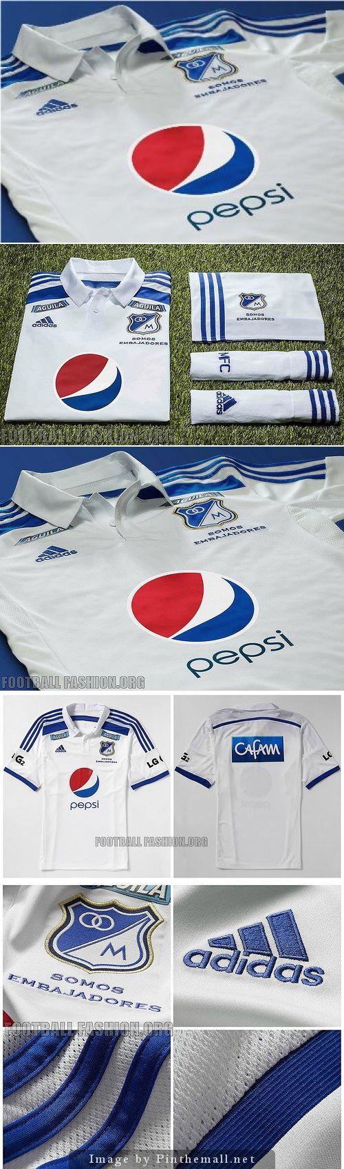 Millonarios FC 2014/15 adidas Away Jersey ♥ ♥ ♥