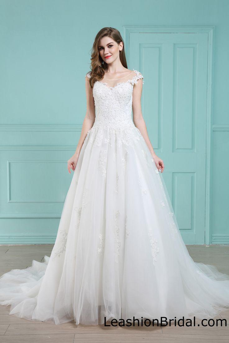 18 best Wedding dresses images on Pinterest   Wedding frocks ...