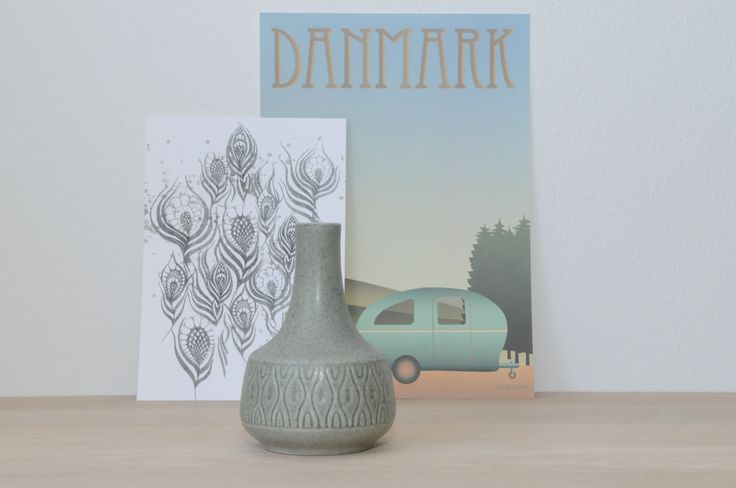 Mid Century Vase from Søholm, Denmark by nORDICbYhEART on Etsy