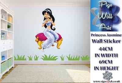 Disney princess jasmine wall art #sticker children's #bedroom #decor large. ,  View more on the LINK: 	http://www.zeppy.io/product/gb/2/262028778949/