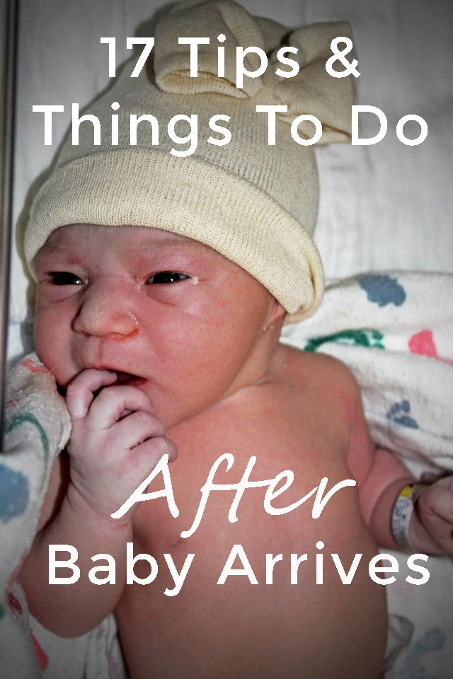 17 Things To Do AFTER Baby Arrives