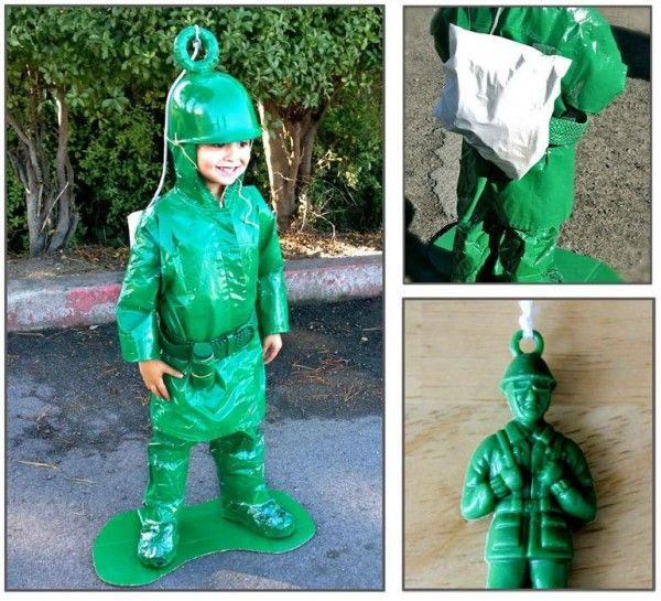 Green Army Man costume.