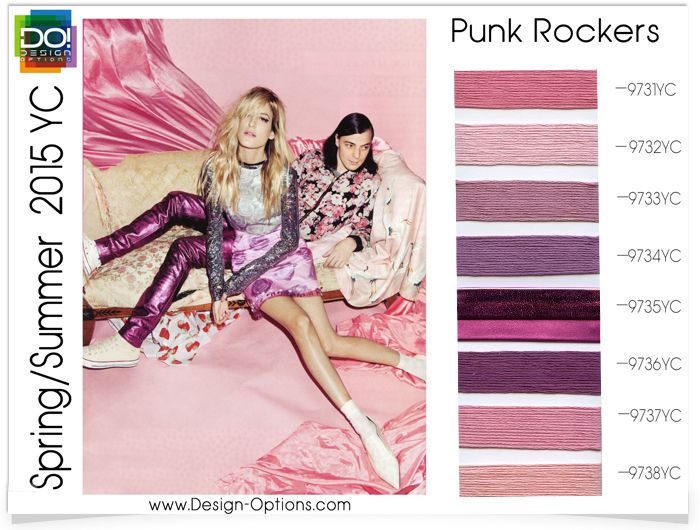 PUNK ROCKERS       Conspicuously rebellious and brashly divergent to tradtionalism... Punk Rockers.  Classic rose and cotton candy tones e...