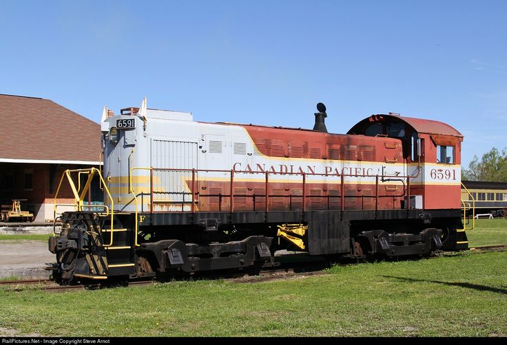 RailPictures.Net Photo: CP 6591 Canadian Pacific Railway Alco S3 at Smiths Falls, Ontario, Canada by Steve Arnot