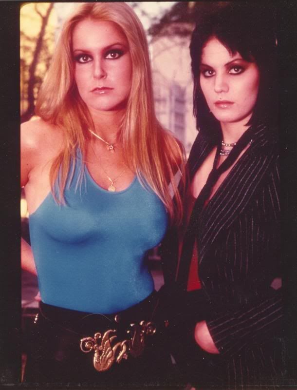 Joan Jett and Lita Ford, 1970's