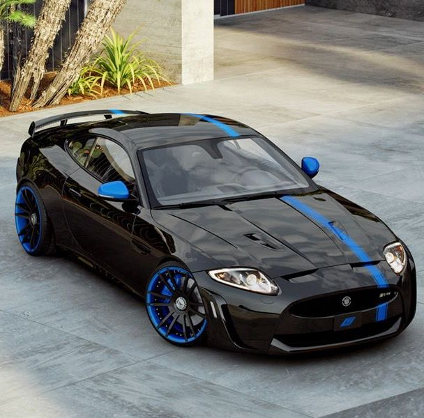 Jaguar Car Wallpaper: 17 Best Images About Black N Blue On Pinterest