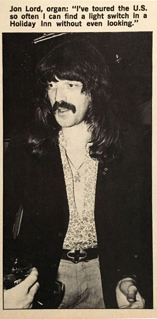 Джон Лорд, Circus magazine (USA). 1974