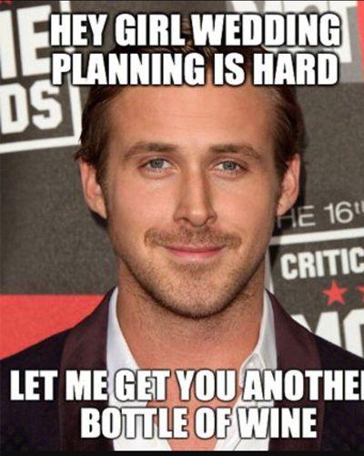 Planning A Wedding Meme