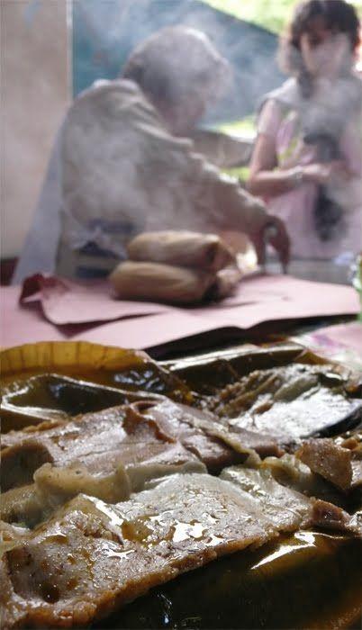 Oaxacan Tamales de Mole