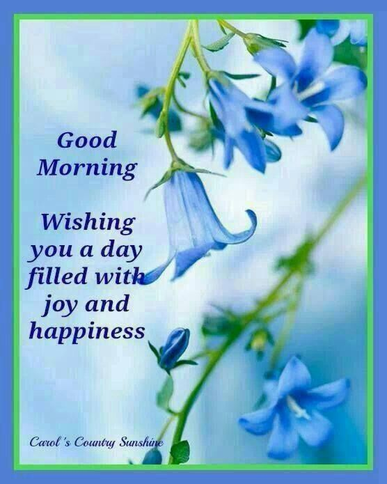 Good Morning, Wishing You A Day Filled With Joy And Happiness morning good morning morning quotes good morning quotes good morning greetings