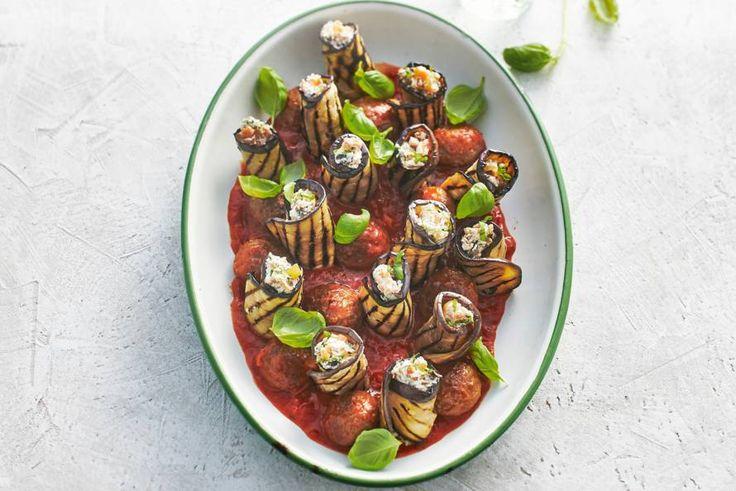 Rijk van smaak en kleur. Dit auberginegerecht spat van je bord! - Recept - Allerhande