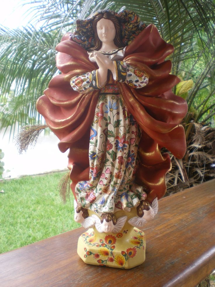 Conceição dos Anjos - VENDIDA | Oficina de Maria | Elo7