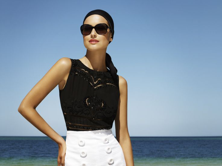 Model on-shoot at Moreton Bay, Queensland. #Collette4Specsavers