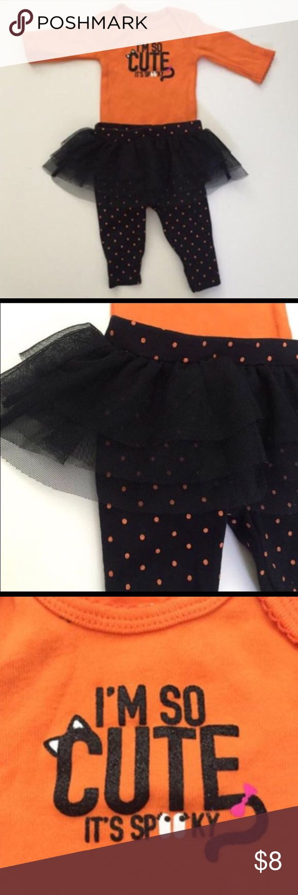 Carter's Halloween Outfit 👻 Carter's Halloween Outfit 👻 Size 9m. New without tags. Carter's Matching Sets