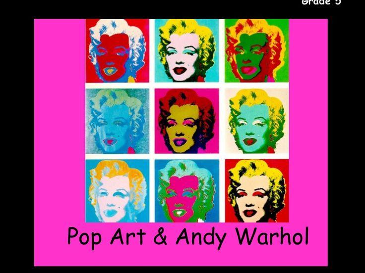 grade pop art u andy warhol