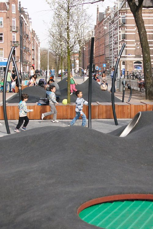 Potgieterstraat  Playscape by Carve Landscape Architecture